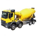 Concrete Mixer Truck Course